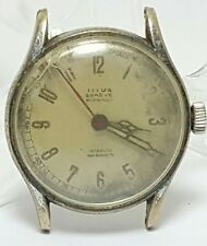 Vintage mens Titus Geneve military mechanical movement watch #16UP
