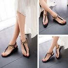 2015 New Fashion Women's Girls Sandals Flops Flat Shoes Open Toe Wedges Sandals
