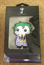 DC Comics The Joker Googley Eyes Ear Buds Phones And Holder Gift New In Case!