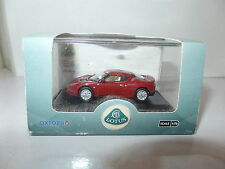 Oxford 76LEV001 LEV001 1/76 OO Scale Lotus Evora Dark Canyon Red / Oyster