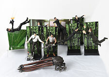 The Matrix Movie 9 Action Figures with all accessories