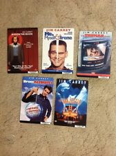 8x5.5 inch Dvd Backer cards MINI POSTER no dvd 5 Jim Carrey. Man On The Moon!!