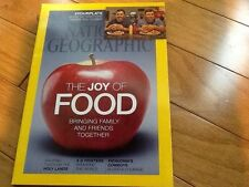 National Geographic  - December 2014- The Joy of FOOD, Holy Land, 3-D Printers!