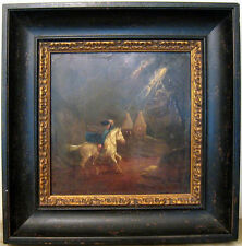 XIXth century Great Britain Oil Painting Lost home