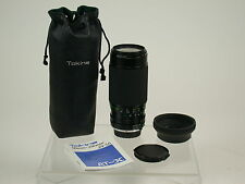 Tokina AT-X 50-250 50-250mm Macro Makro1:1,4 !! Minolta MD adapt. NEX MFT /14