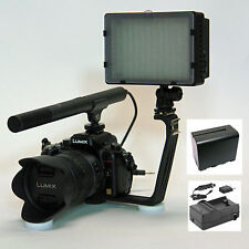 Pro VM SC-12L mic light F970 for Sony alpha a7S a37 a57 a58 a65 a77 a99 video