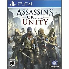PS4 Games Assassin's Creed Unity Brand New & Sealed