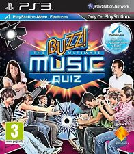 Buzz the ultimate music quiz (Sony PlayStation 3, 2010) - version européenne