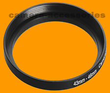43mm to 46mm 43-46 Stepping Step Up Filter Ring Adapter 43-46mm 43mm-46mm