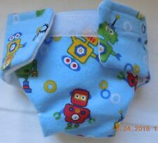 BABY DOLL CLOTH DIAPER CLOTHES PLAYFUL ROBOT  FIT CABBAGE PATCH BITTY BABY
