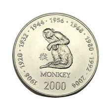 elf Somalia Republic 10 Shilling 2000 Zodiac  Monkey