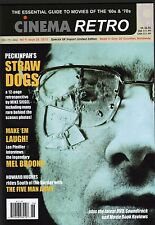 CINEMA RETRO ISSUE #26 SAM PECKINPAH STRAW DOGS BEHIND THE SCENES