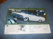 "1961 Buick LeSabre Convertible Mild Custom Article ""Second Time Around"""