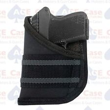 NYLON GUN PISTOL POCKET HOLSTER SML AUTO 22/25/380 RUGER KEL TEC **MADE IN USA**
