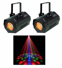 2 CHAUVET LX-5 Dance Club Stage Sound Activated LED DJ Moonflower Effect Lights