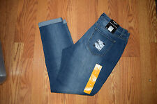 NWT Womens NINE WEST JEANS Gramercy Pacific Medium Wash Skinny Ankle Jeans Sz 12
