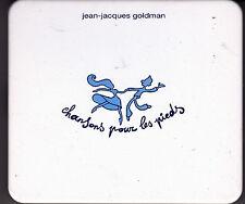CD 12T BOITIER EN MÉTAL JEAN JACQUES GOLDMAN CHANSONS POUR LES PIEDS DE 2001 tbe