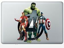 Avengers Decal Sticker Skin Decals Stickers for Macbook Pro Air 13 15 17 inch AV