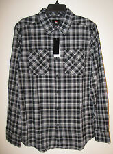 Quiksilver Men's Button Front Long Sleeve Shirt NWT Size S