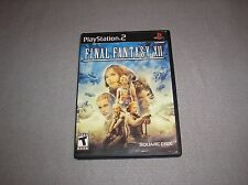 Final Fantasy XII for Playstation 2 PS2 COMPLETE TESTED & WORKING Game