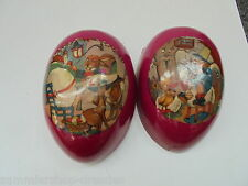 25626 antikes Osterei Pappe Zelluloid 15cm vinage Easter Egg celluloid german
