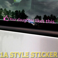 Your Daughter likes this Adesivo Tuning Sticker MI PIACE Facebook ADESIVI
