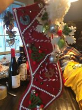 Super Cute Crafted Christmas Stocking 18 Inch