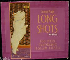 LORENA PUGH WISHBONE LONG SHOTS PANORAMIC 700 PIECE JIGSAW PUZZLE DOG NEW! H-39
