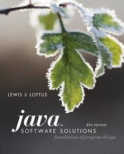 Java Software Solutions : Foundations of Program Design by William Loftus and J…