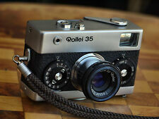ROLLEIFLEX SILVER ROLLEI 35 35mm FILM CAMERA