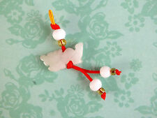 CHINESE JADE ZODIAC ANIMAL SIGN DRAGON PENDANT CHARM BIRTHDAY NEW YEAR PARTY