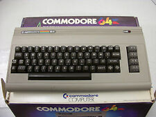 Vintage Commodore 64 Personal Computer in Original Box with Power Supply 1984