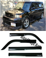 For 04-06 Scion xB Toyota bB JDM Side Door Window Frame Visors Rain Guard Vent