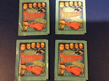 4 packs THUNDERBIRDS ARE GO collector stickers 24 total stickers FREE SHIPPING