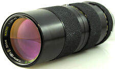 TAMRON 85-250mm f3.8 -4.5 Tele Zoom lens + Minolta MD mount ADAPTALL AD2 system