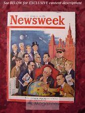 NEWSWEEK October 23 1961 Oct 10/23/61 RUSSIA USSR KREMLIN POWER Cold War