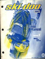 2002 SKI-DOO VOLUME 2 MACH Z SPORT /TECH PLUS P/N 484 200 034 SHOP MANUAL (749)