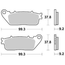 HONDA VFR X Cross Runner 800 2015-2015 BRAKE PADS SBS 862 LS (SINTERED)