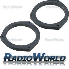 """Subaru Outback Legacy 6.5"""" MDF Front Rear Door Speaker Adaptors / Rings Spacers"""