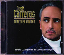 Jose CARRERAS: TOGETHER STRONG Mescoli Rodrigo Rossi Gardel CD Volver Tristesse
