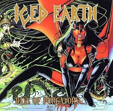 ICED EARTH Days Of Purgatory 2 CD SET LIMITED EDITION