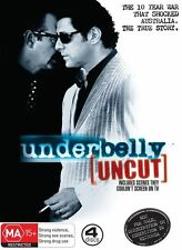 Underbelly Uncut First Season/ Series 1/ One (DVD, 2008, 4-Disc Set)