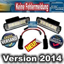 +++ Super LED Kennzeichenbeleuchtung für SEAT Leon 1P BJ. 2005-2009 !!! +++