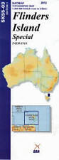 Natmap 1:250,000 Scale Map of Tasmania  Flinders Island - brand new latest edn