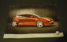 Alfa Romeo Mito Precio lista / prijslijst folleto (jun 2009) - Holandesa
