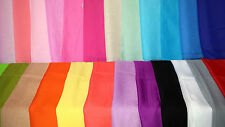 Joblot 24 pcs solid colour chiffon scarves scarf wholesale 50x160 cm Lot 11