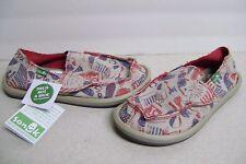Unisex Sanuk Patriot Kids Casual Shoes Size 5 New