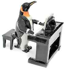 """Porcelain Penguin Piano Player (2"""" tall)"""