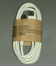 Officiel USB Sync Charge Câble pour Samsung Galaxy s2 s3 s4 NOTE Blanche