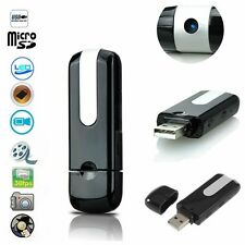 USB Disk SPY Camera Camcorder Mini Hidden DV DVR Motion Activated Detection WISA